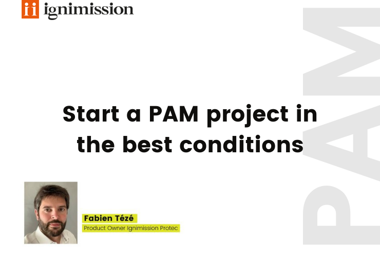 Press release - Start a PAM project in the best conditions
