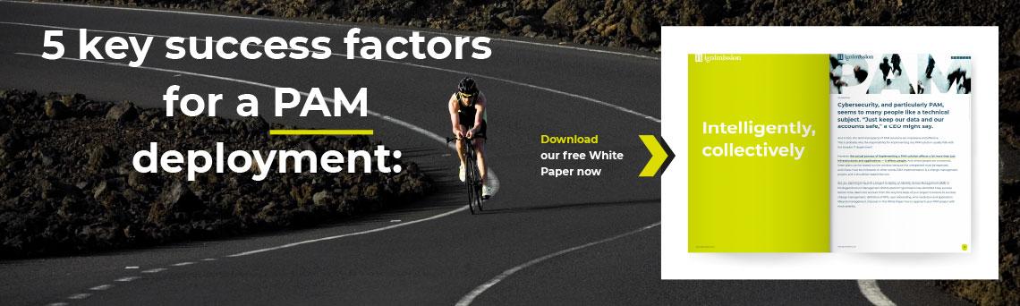 White paper - success factors for a PAM deployment